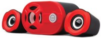 View Hiper Song qhm6200 Laptop/Desktop Speaker(Red, Black, 2.1 Channel) Laptop Accessories Price Online(Hiper Song)