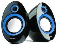 View Philips SPA60 Laptop/Desktop Speaker(Blue, 2.0 Channel) Laptop Accessories Price Online(Philips)