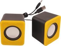 Speed Multimedia Usb Speaker Portable Laptop/Desktop Speaker(Yellow, 2.0 Channel)