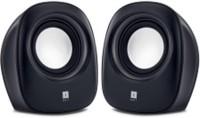 Iball SoundWave 2 Multimedia 2.0 -Black 4 W Portable Laptop/Desktop Speaker(Black, 2.0 Channel)