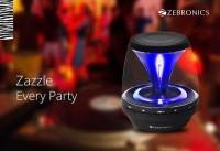 Zebronics Sparkle BT015CF Bluetooth Laptop/Desktop Speaker(Black, Mono Channel)