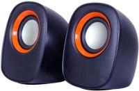 Mesta y-010 2.0 Mini Portable Laptop/Desktop Speaker(Orange, 2.1 Channel)