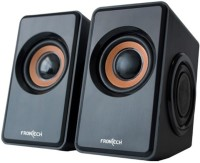 View Frontech JIL-3400 Laptop/Desktop Speaker(Black, 2.0 Channel) Laptop Accessories Price Online(Frontech)