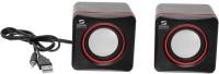 SData Plus Plus Ranz RX 218 10 W Portable Laptop/Desktop Speaker(Black, 2.0 Channel)