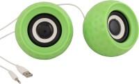 Speed Wired Multimedia Usb Speaker Portable Laptop/Desktop Speaker(Green, 2.0 Channel)