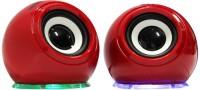 Zebronics S750 Red Portable Laptop/Desktop Speaker(Red, 2.0 Channel)