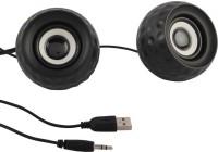 Speed Multimedia USB 2.0 M10 Mini Portable Laptop/Desktop Speaker(Black, 2.0 Channel)