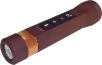View Swiss Military 5 in 1 Torch Cum Bluetooth Speaker Portable Bluetooth Laptop/Desktop Speaker(Brown, Mono Channel) Laptop Accessories Price Online(Swiss Military)