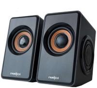View Frontech 3400 Laptop/Desktop Speaker(Black, 2.0 Channel) Laptop Accessories Price Online(Frontech)