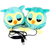Shrih Green Bird Soft Toy With 10 W Portable Laptop/Desktop Speaker(Green, 2.1 Channel)