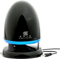 View Evis EPS-301 Laptop/Desktop Speaker(Black, Mono Channel) Laptop Accessories Price Online(Evis)