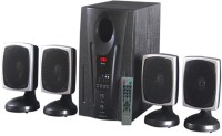 Intex IT-2650 Digi FM 20 W Laptop/Desktop Speaker(Black, 4.1 Channel)