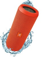 JBL FLIP 3 ORANGE Portable Bluetooth Mobile/Tablet Speaker(Orange, Mono Channel)