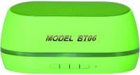 Adcom Mini-BT06 Wireless Mobile/Tablet Speaker_G Portable Bluetooth Mobile/Tablet Speaker(Green, Mono Channel)