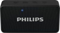 Philips BT64B/94 Portable Bluetooth Mobile/Tablet Speaker(Black, Mono Channel)