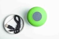 Burfa Wireless Bluetooth Waterproof Shower Speaker Portable Mobile/Tablet Speaker(Green, Mono Channel)