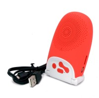 BMS ThinkBox 004 Portable Bluetooth Mobile/Tablet Speaker(Red, 2.1 Channel)