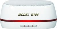 Adcom Mini-BT06 Wireless Mobile/Tablet Speaker_W Portable Bluetooth Mobile/Tablet Speaker(White, Mono Channel)