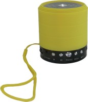 Smart Pro Mini S10 Bluetooth speaker Portable Bluetooth Mobile/Tablet Speaker(Yellow, 2.0 Channel)