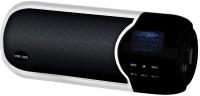 Optima Smart Boom Multimedia Portebal 4-In One White (100d) Portable Mobile/Tablet Speaker(White Black, Mono Channel)