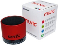 Citix BLUETOOTH S-10 Portable Bluetooth Mobile/Tablet Speaker(RED, 2.1 Channel)