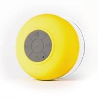 Burfa Shower waterproof Bluetooth Portable Mobile/Tablet Speaker(Yellow, Mono Channel)