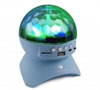 Zebronics ZEB-DISCO Portable Bluetooth Mobile/Tablet Speaker(Blue, Green, White, Gray, 2.1 Channel)