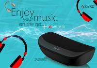 Zazz ZAZZ Power Bank Bluetooth Speaker ZBS136 Portable Bluetooth Mobile/Tablet Speaker(BLACK, Mono Channel)
