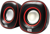 View TAG Mini Speaker DP-20 Laptop/Desktop Speaker(Black, 2.0 Channel) Laptop Accessories Price Online(TAG)