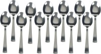 KCL Matte Stainless Steel Tea Spoon Set(Pack of 12)