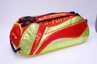 Li-Ning ABDH118-2 RacquetBag(Red, Kit Bag)