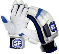 Stanford VA900 Mens Batting Gloves (L, White, Blue, Black)