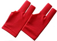 Billiedge Nail cut-BGR Gym & Fitness Gloves (Free Size, Red)