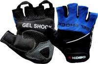 Kobo WTG SG5 Gym & Fitness Gloves (S, Blue)