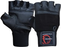 Triumph Power Gym & Fitness Gloves (L, Black)