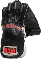 BDM Matador Wicket Keeping Gloves (Men, Black, Red)