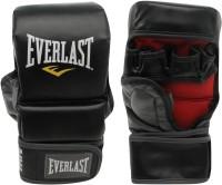 Everlast Striking Training Boxing Gloves (M, Black, Red)