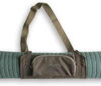 Rumi Natural Yoga Mat Carrier - Origami - Brown Color Brown 2 mm Exercise & Gym Mat