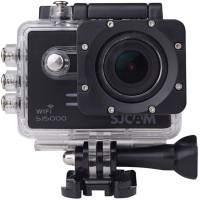 Mobilegear Powershot SJCAM SJ5000 14 MP WiFi 1080P Full HD Waterproof Digital Camcorder With Video & Photo Lapse Sports and Action Camera(Black, 16)