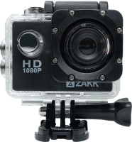 Zakk HD 1080P Sports and Action Camera(Black 12 MP)