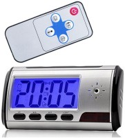 I-Keeper Multifunction Clock Clock Spy Camera(2 MP)