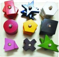 Kinder Creative Color Shapes Sorting Board