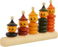 Anuradha Wooden Counting Stacker(Multicolor)