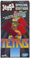 Hasbro Jenga Tetris Special Edition Game(Multicolor)