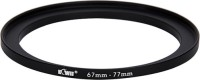JJC Kiwifotos Metal Adapter Ring SU 67-77 Step Up Ring(67 - 77 mm)