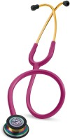 Littmann 3M Classic III™ Stethoscope, Rainbow-Finish 5806 acoustics(Raspberry Tube)