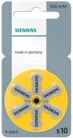 Siemens Hearing aid battery size 10 (36 PCS)(Yellow)