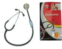 NSC Diamond Regular Acoustic Stethoscope(Black)