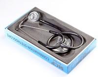 MCP Dual Head Adult Sethoscope Acoustic Stethoscope(Black)