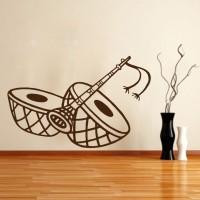 Decor Kafe Medium Wall Sticker For Bedroom Sticker(Pack of 1)